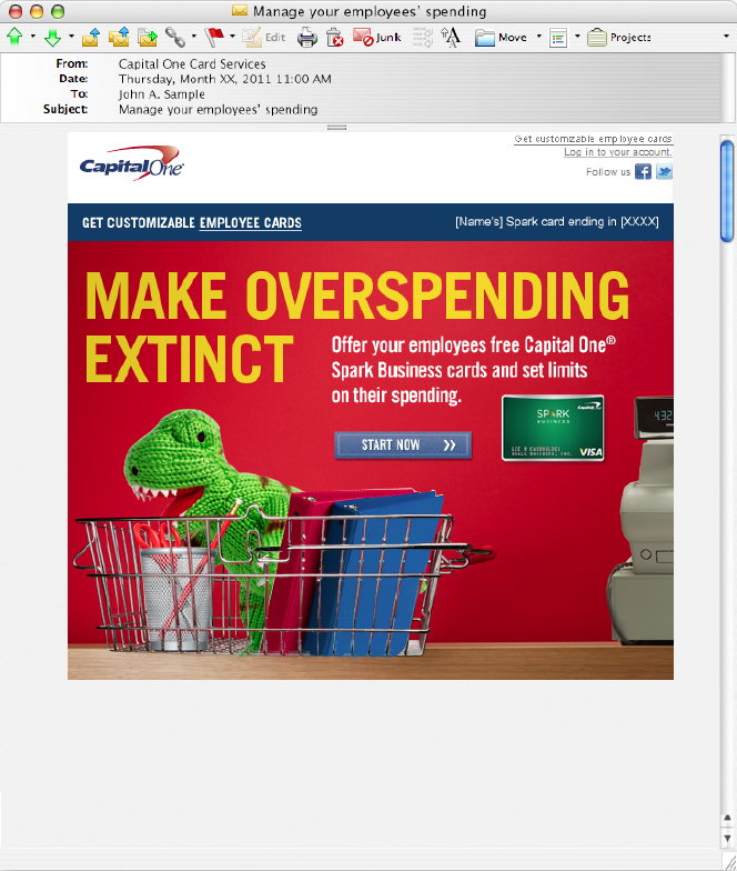 Capital One - REY ROSAS | COPYWRITER